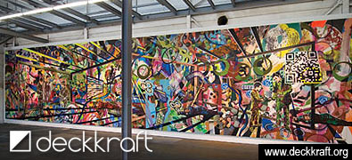 deckkraft - 2012 - l,Acryl/Leinwand - 370x1580 cm